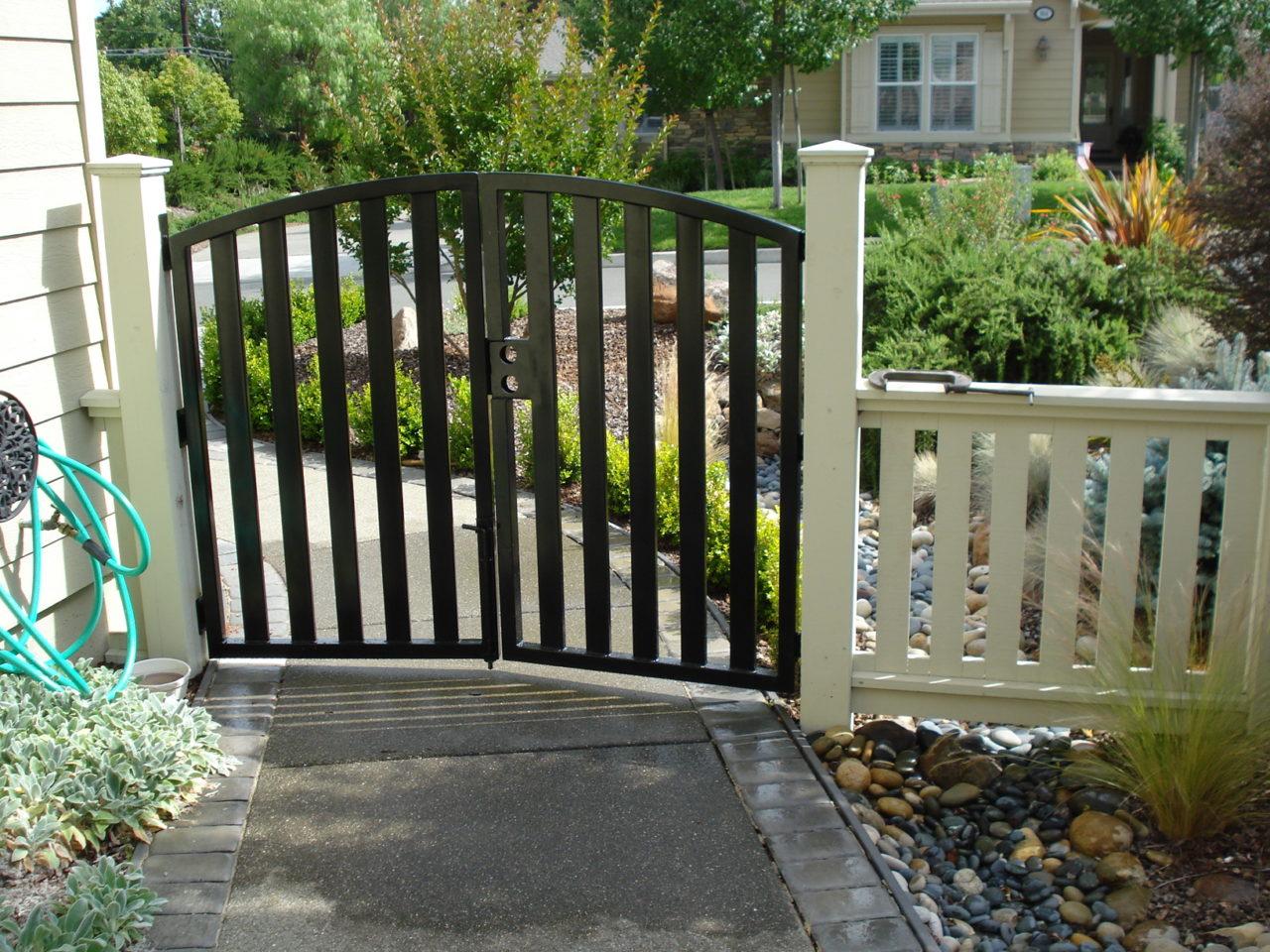 Ornamental Iron Coggins Fence