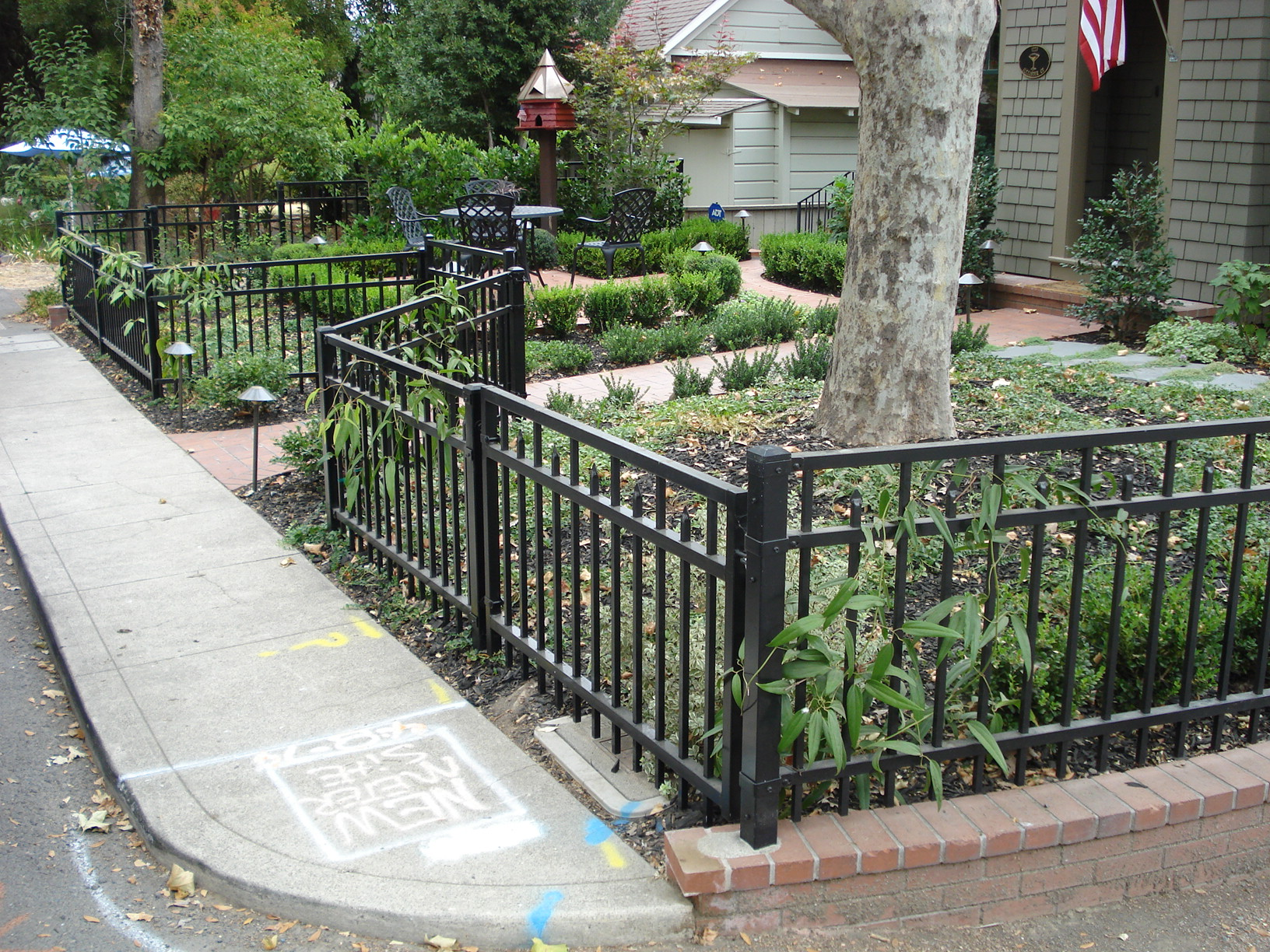 Decorative Front Yard Custom Fence Coggins Fence