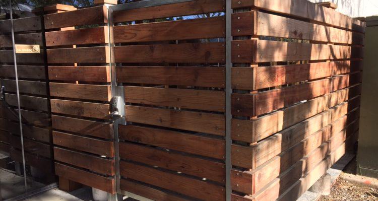 Wood Wire Amp Vinyl Coggins Fence