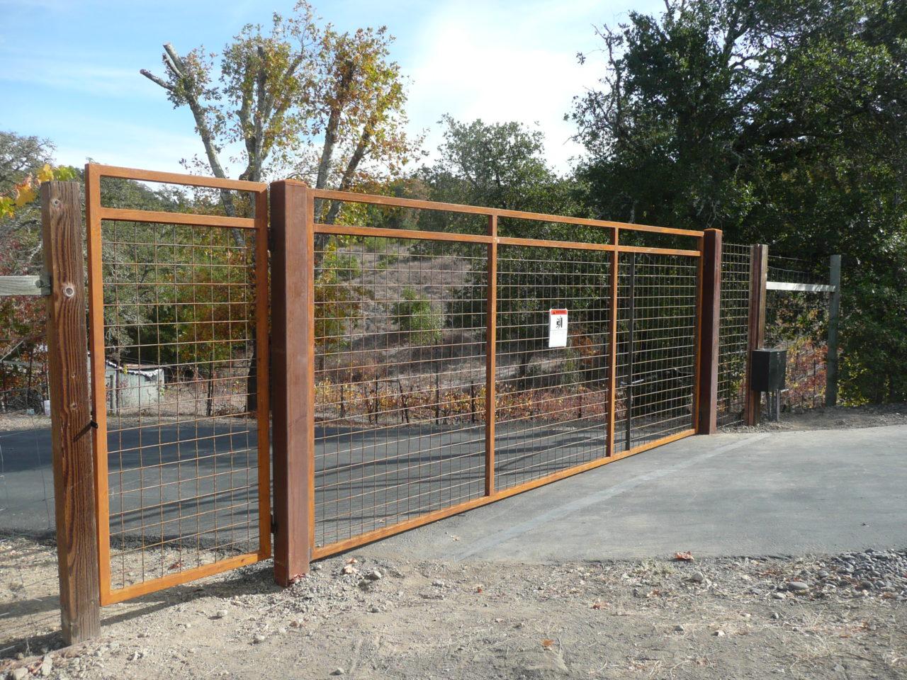 Operated Gates Coggins Fence